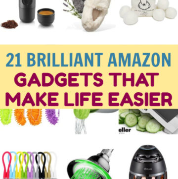 From time savers to space savers (and even a toilet seat saver) these 21 brilliant Amazon gadgets will make your life infinitely easier!