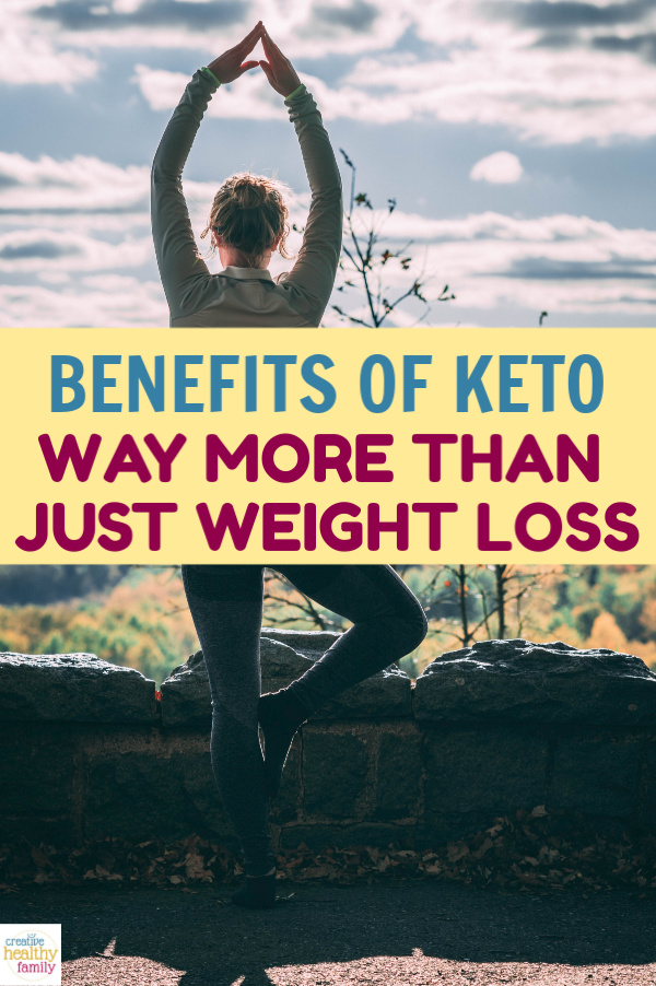Think the Ketogenic diet is only good for people who want to drop a ton of weight? Think again! The health benefits of keto go way beyond weight loss!