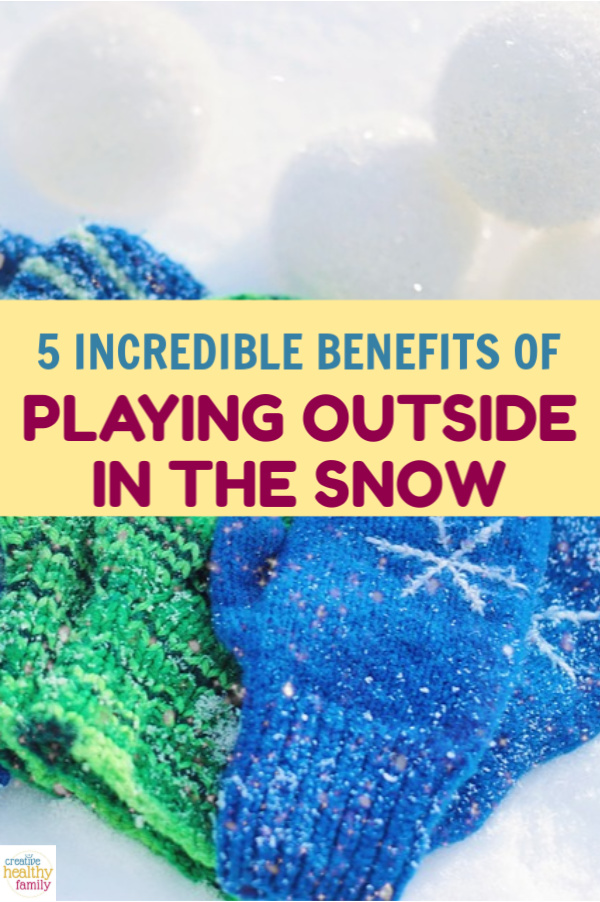 Once you read these surprising benefits of playing outside in the snow with your family, you'll be wishing every day was a snow day!