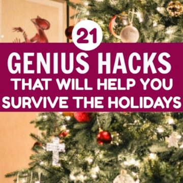 genius hacks holidays
