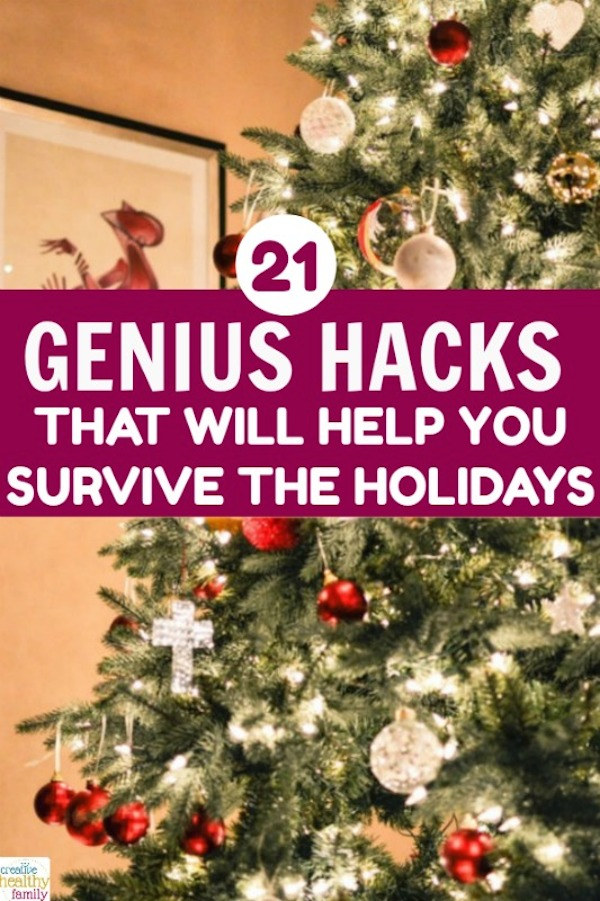 21 genius hacks that will help you survive the holidays