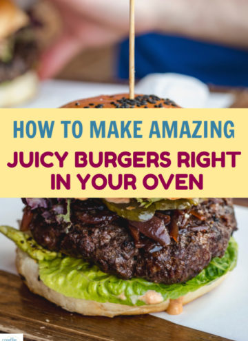 Don't be sad that grilling season is over. Today I'm going to tell you how to make juicy baked burgers in the oven! It's so easy!