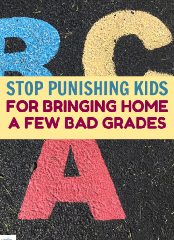 Please stop punishing your kid for bad grades. You're not doing them any favors in the long run, and in fact you could be doing them more harm than good. Read on to learn why!
