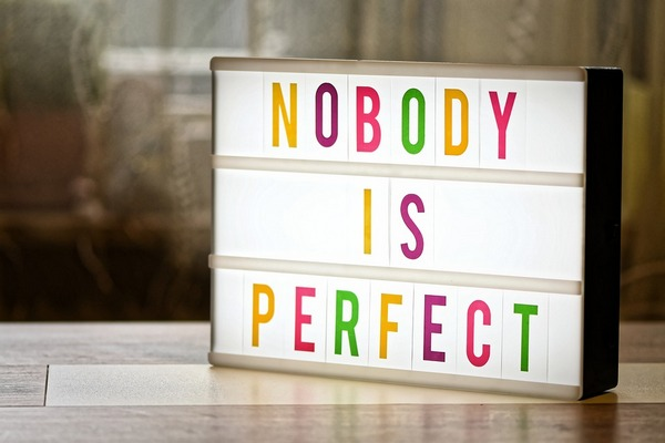You're not perfect, so why do you expect your kids to be?