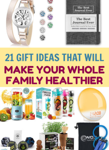 Give one of the greatest presents of all this holiday season- the gift of health. Check out 21 brilliant gift ideas that'll make your family healthier!