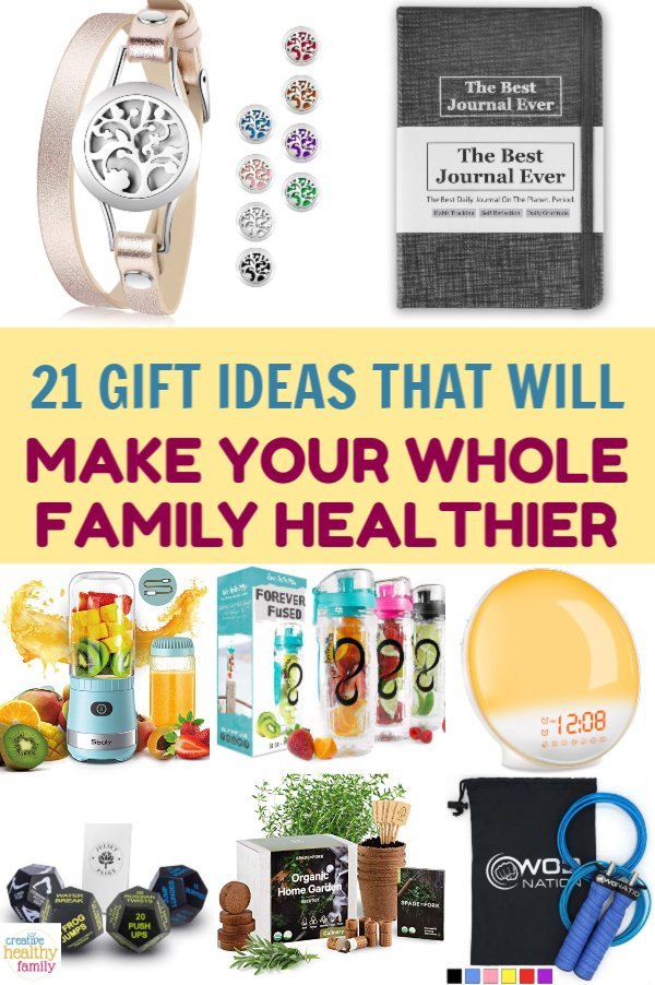 21 Brilliant Gift Ideas That Will Make Your Family Healthier
