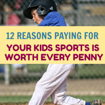 Spending money on your kids' sports is totally worth it. Don't believe me? Give me a few minutes to change your mind!