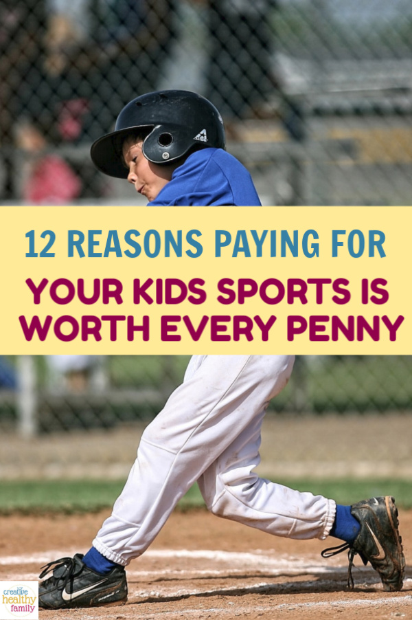 Spending money on your kids' sports is totally worth it.