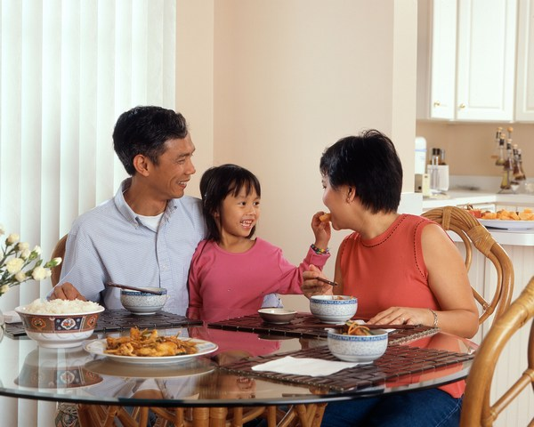 Family dinner help make kids successful