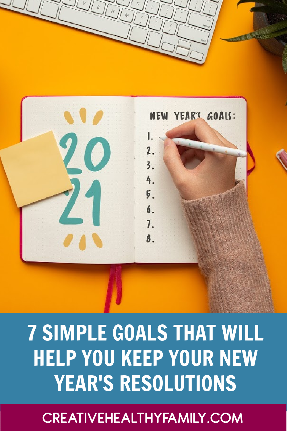 We all want to eat better and make smarter choices. If these are your New Year's resolutions, keep reading for 7 ideas that will keep you on track! Then just check out the ONE thing you need to do this year that will help you stick to ALL of your goals.