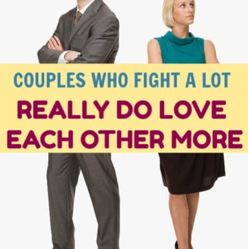 Couples who fight often love each other more, according to experts. Find out why! Then, check out a few tips for keeping the fight healthy and civilized.