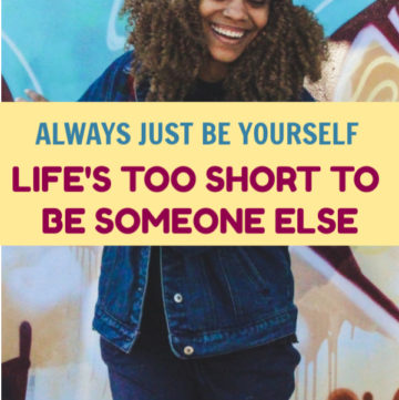 "Life's too short to be someone you're not, so be yourself instead. Easier said than done, especially when #FONFI is a very real thing. ""What's that,"" you ask? Read on to find out!"