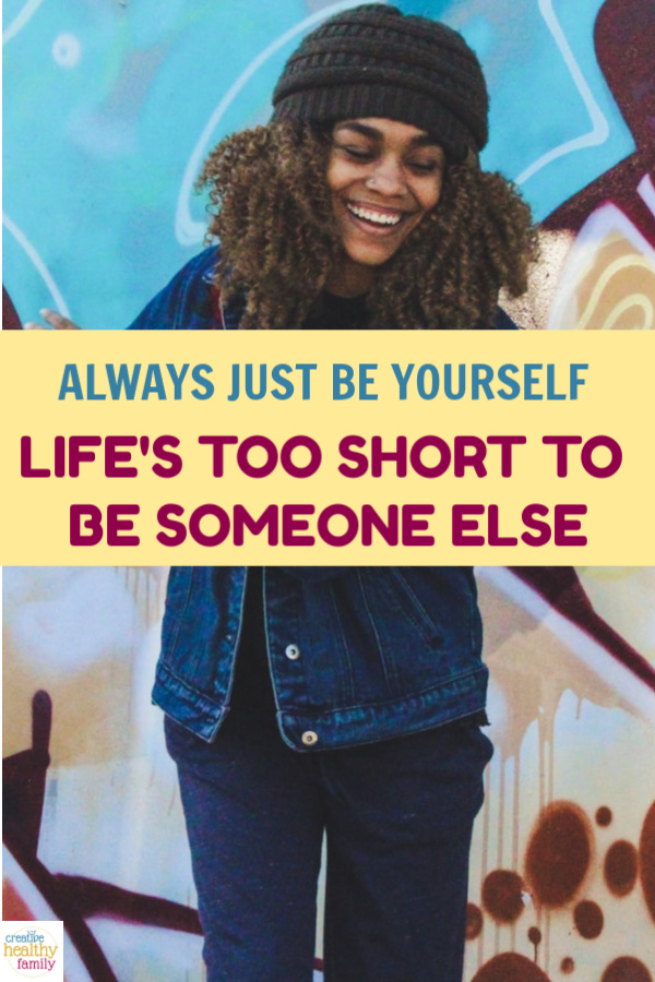 """Life's too short to be someone you're not, so be yourself instead. Easier said than done, especially when #FONFI is a very real thing. """"What's that,"""" you ask? Read on to find out!"""