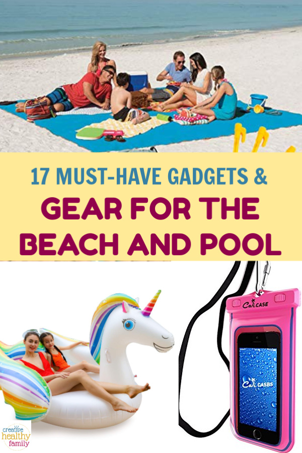 Get a head start on planning your ultimate summer of fun in the sun by stocking up on these essential gadgets & gear for the beach or pool. Check them out!