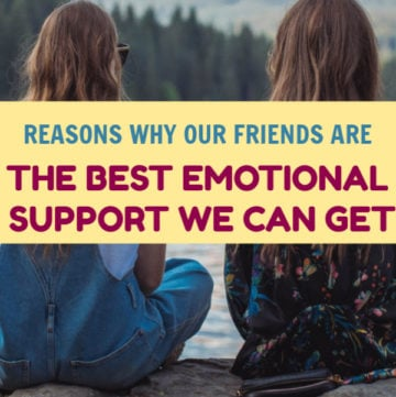 Our friends are the best emotional support we can have. They're there for us in good times and in bad. Read on to learn why they matter so much!