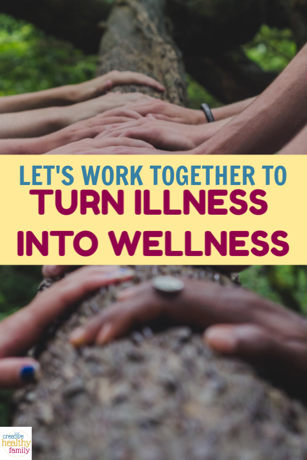 "As Malcolm X once said, ""When 'I' replaced with 'We', even illness becomes wellness."" Let's work together to turn this illness into wellness! Find out how!"