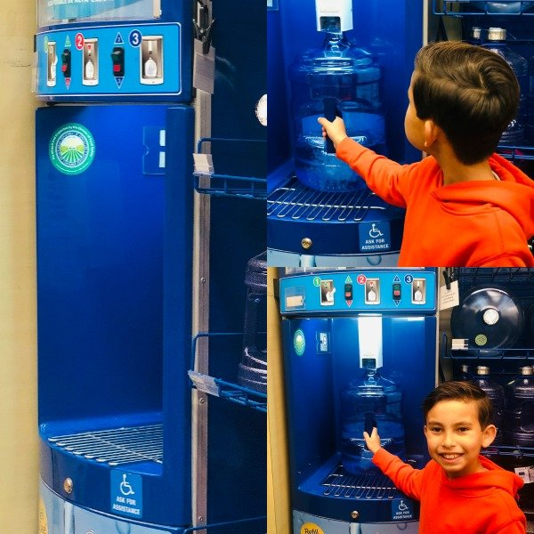 Primo Water Dispenser is easy to fill