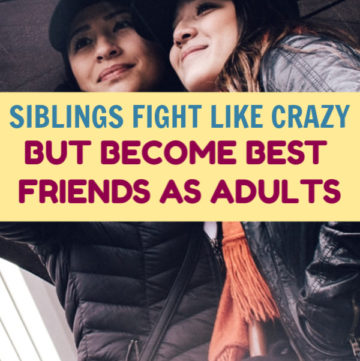Even when siblings fight like cats and dogs, they often grow up to become best friends. Don't believe me? Check out these stories that prove it!