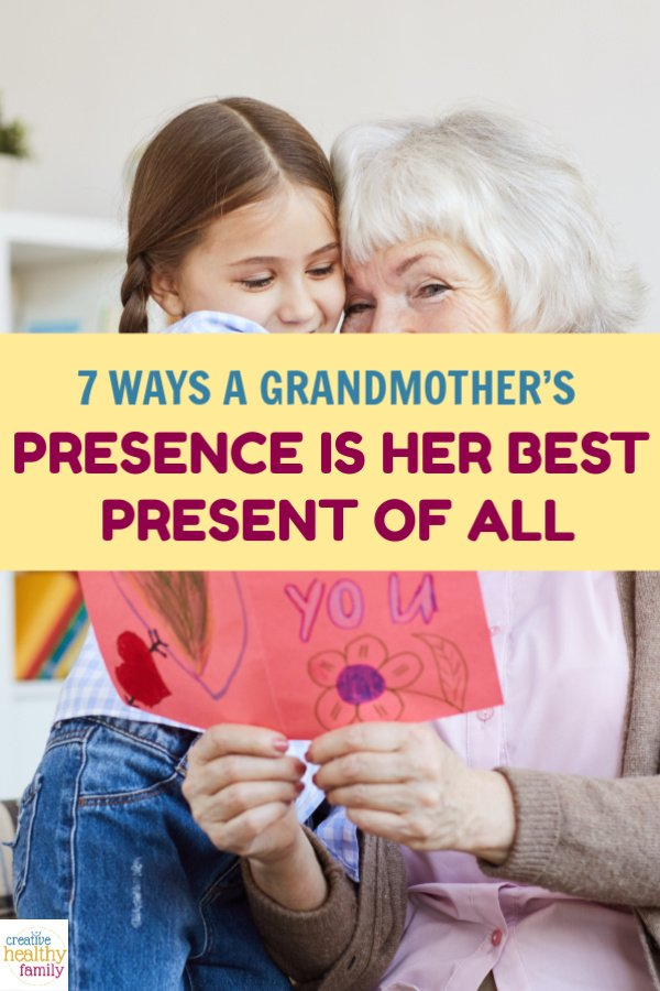 A grandmother's duty isn't just to give presents, but to be present in her grandchildren's life. Let's talk about 7 wonderful ways she does that.