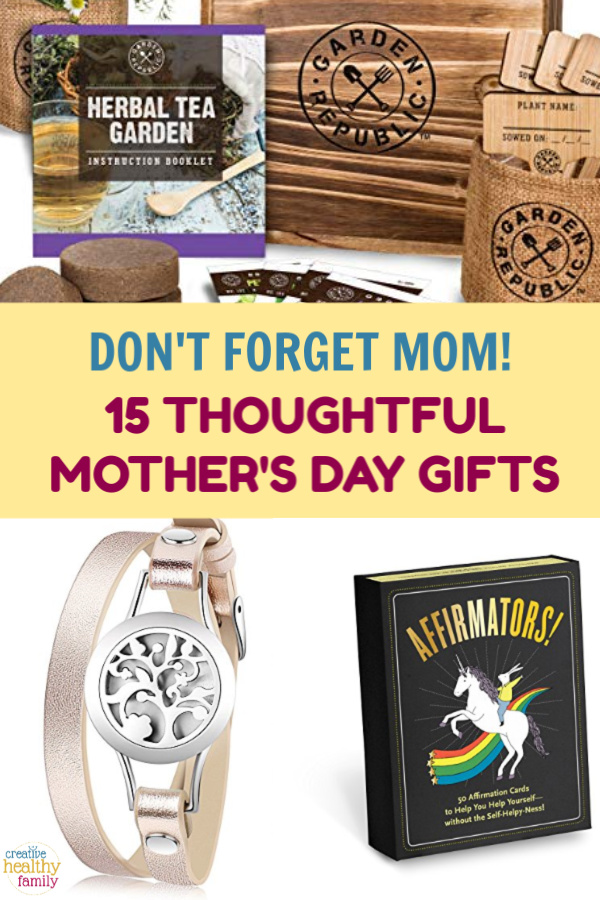 Don't forget about mom! Even if you can't spend the day with her in person, you can show you're thinking of her with these Mother's Day gift ideas!