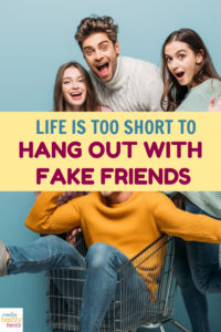"""As Habeeb Akande said, """"Fake friends are like shadows, always near you at your brightest moments, but nowhere to be seen at your darkest hour."""" Life is way too short to hang out with fake friends, don't you think?"""