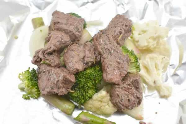 Keto Steak Foil Packets Recipe