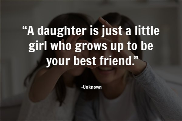 mom daughter quote