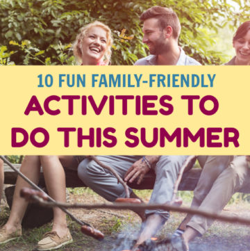 If your original plans for the season are totally off the table this year, don't worry! You can still have a fantastic time with these family-friendly activities for summer. Take a look!