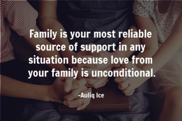 family is unconditional love