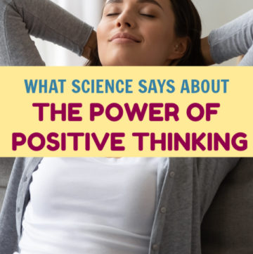 We've heard it a million times- think happy thoughts and good things will come your way. Are there any real science-backed benefits to positive thinking, though? Find out!