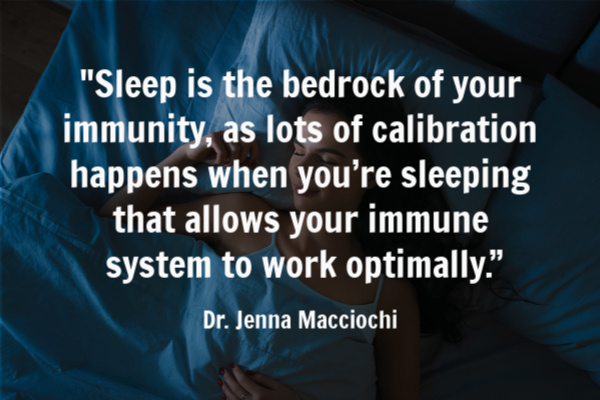 sleep for a strong immune system