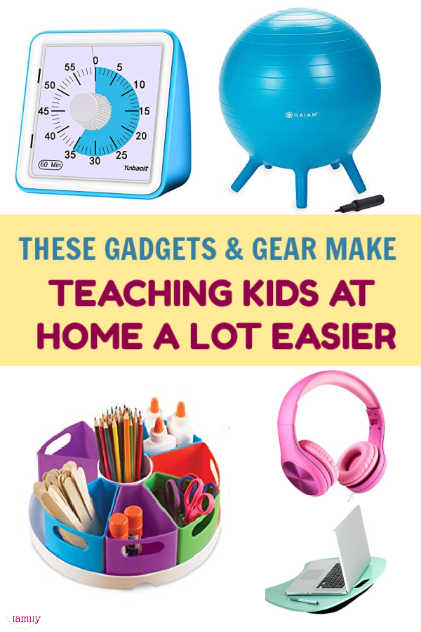 Whether you're teaching your kids at home due to current events or because you just plain prefer homeschooling, these gadgets and goodies will make your job easier. Take a look!