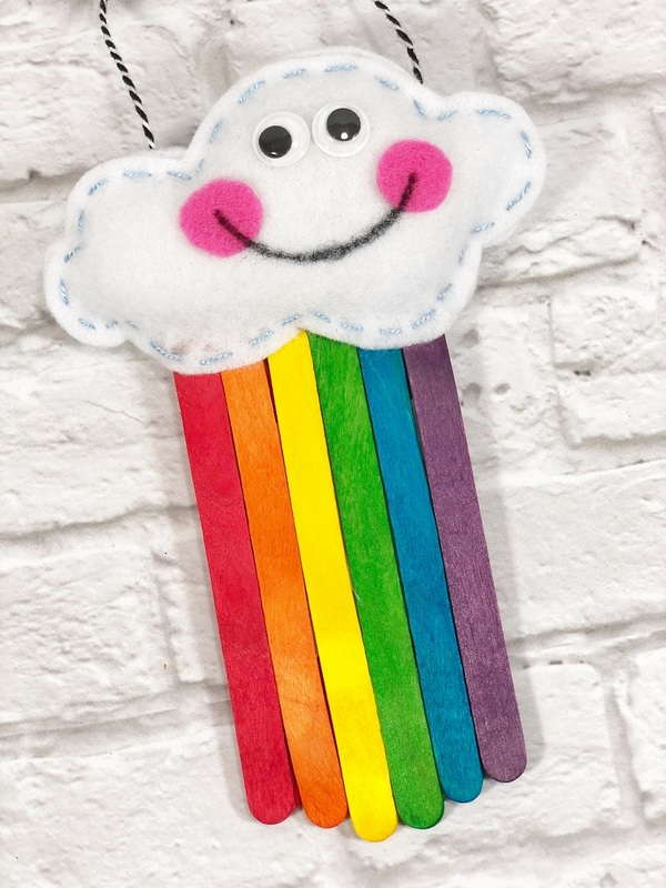 Kawaii Rainbow Craft