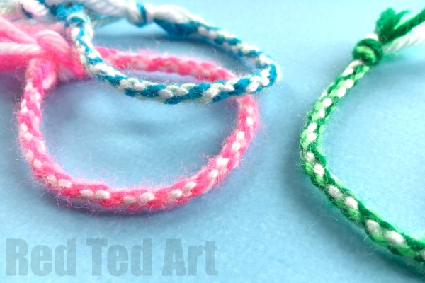 Colorful Friendship Bracelets