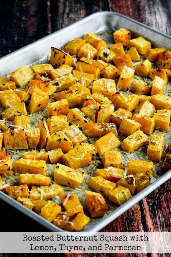 Roasted Butternut Squash with Lemon, Thyme, and Parmesan fall recipes