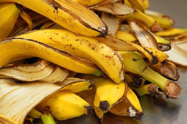 banana peels for dry skin