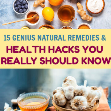 Whether you're looking for natural remedies because you want to take a more holistic approach to wellness or just to save money, you'll love today's post. These health hacks are genius!