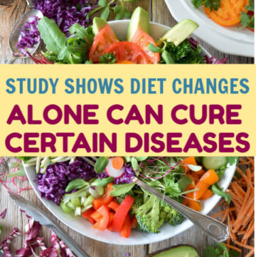 Can changes in diet alone cure diseases? According to one study, it can! Read on to learn more, plus discover other studies supporting that diet holds the key to cures.