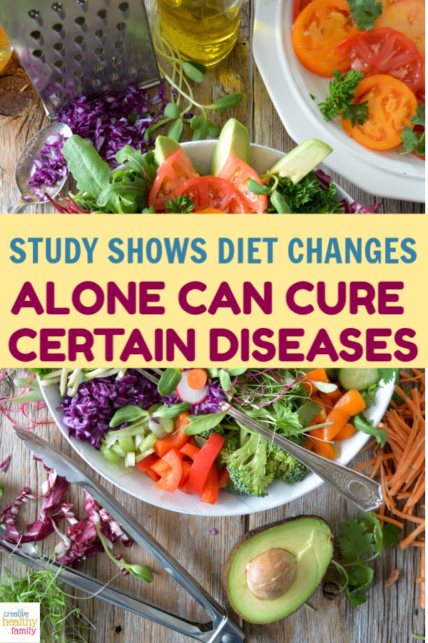 Can changes in diet alone cure diseases? According to one study, it can! Read on to learn more, plus discover other studies supporting that diet holds the key to curing certain diseases.