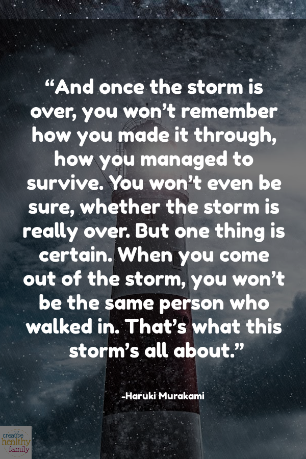 lessons we learned this year through the storm