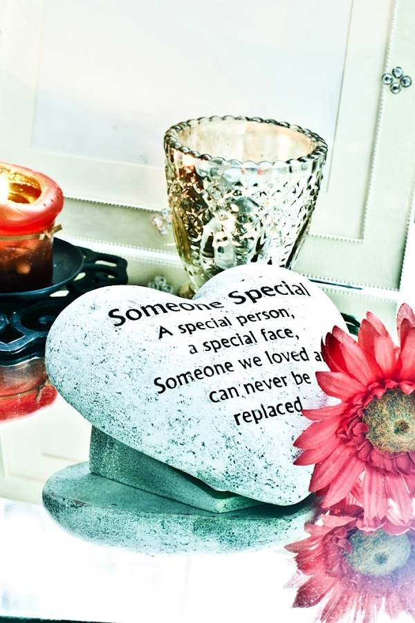Not even time can eliminate grief. However, honoring loved ones who have passed away can ease it so it doesn't hit you like a ton of bricks out of the blue.