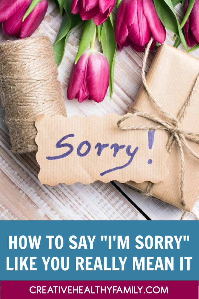 """When it comes to apologizing, there's definitely a right and wrong way to do it! Check out three simple rules for how to say """"I'm sorry"""" like you mean it."""