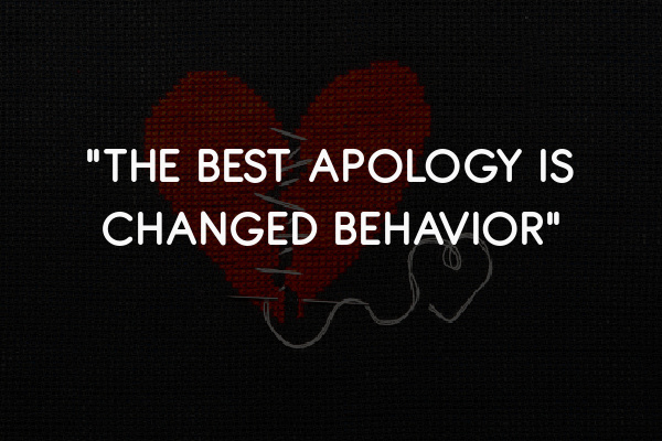 best way to apologize