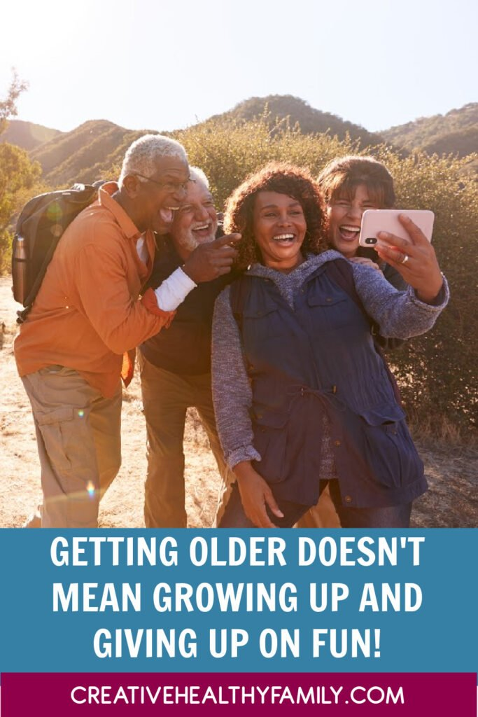 Getting older may be an unavoidable part of life, but growing up is 100% optional! Stop telling yourself you're too old to have fun. Let's discuss!