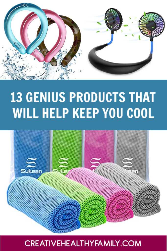 Stuck in a heat wave with no AC? No problem! These 13 genius Amazon items will help keep you cool on hot days! Check them out!