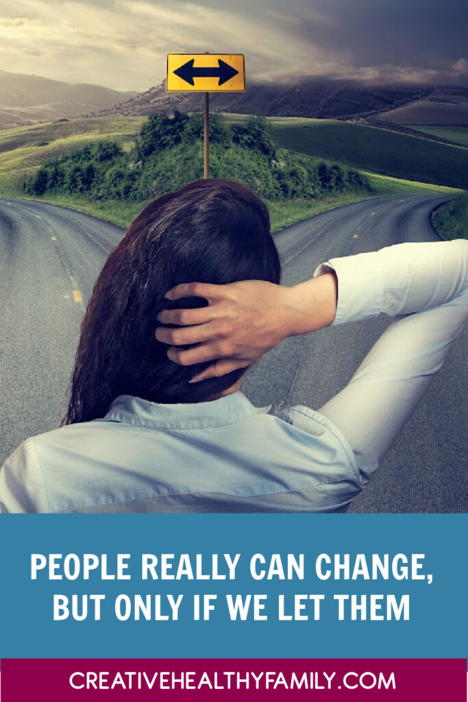 Can people change? Yes, absolutely…IF we actually let them! We need to stop judging everyone by who they were and look at who they are. Let's discuss.