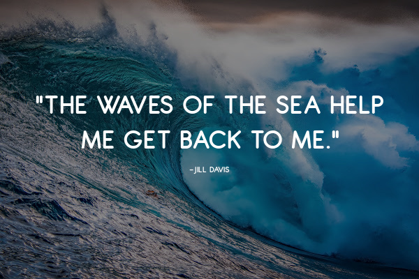 the waves of the sea quote