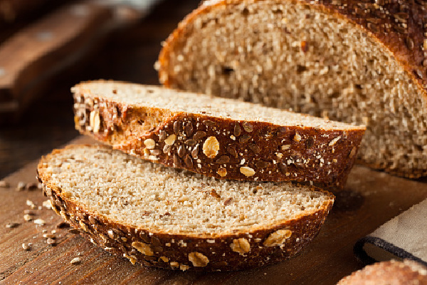 Organic Homemade Whole Wheat Bread for Healthy Ingredient Swaps