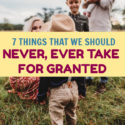 When you realize how much you take for granted, you learn to appreciate all the smaller things. These are just 7 of the many things that we're lucky to have.